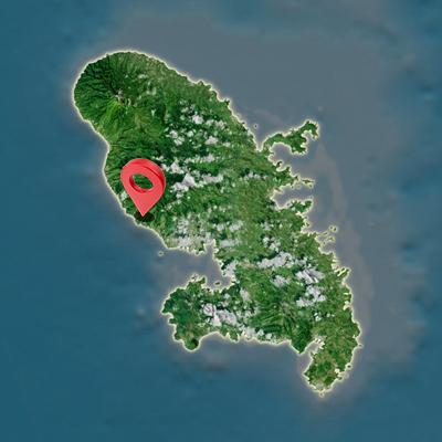 Carte Fort de France Martinique