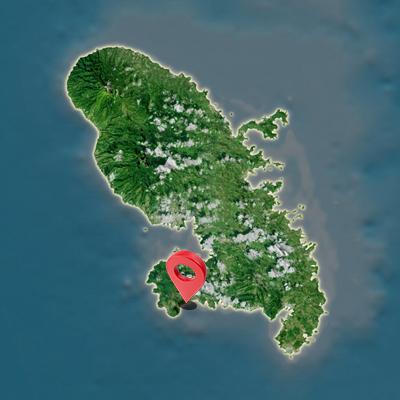 Carte Aeroport Aime Cesaire Martinique